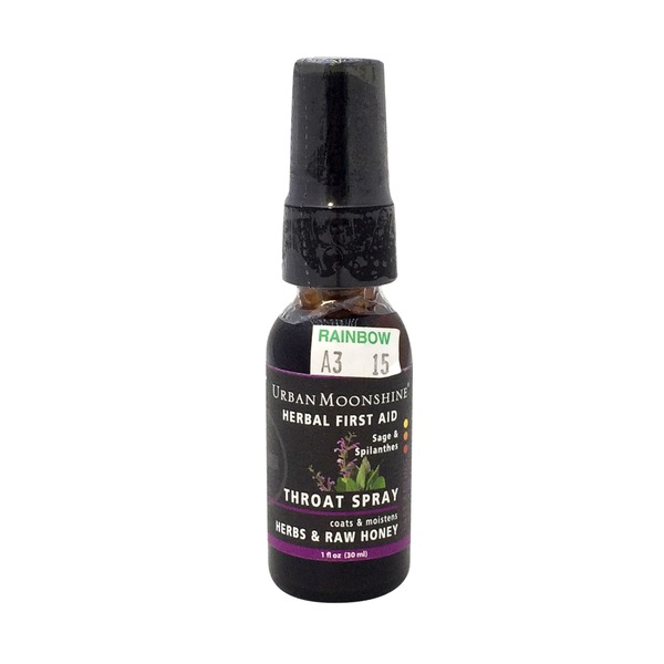 Urban Moonshine Sage & Spilanthes Throat Spray