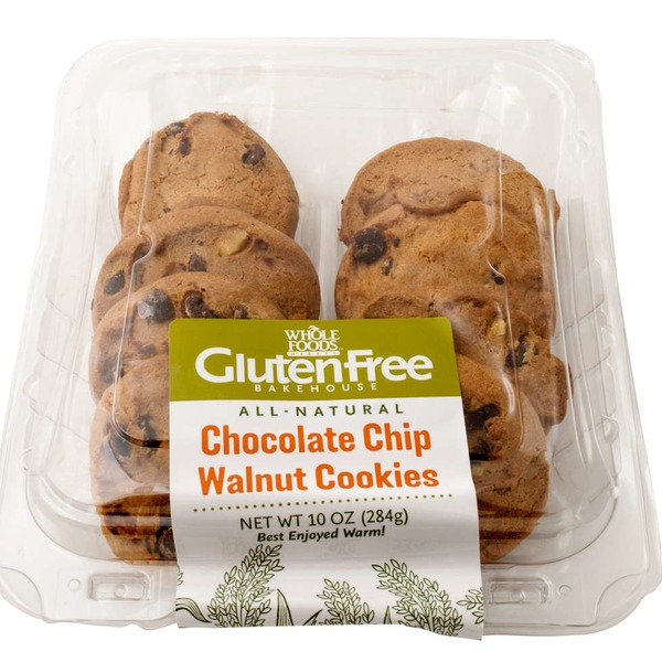 Whole Foods Market Gluten Free Chocolate Chip WalnutCookies