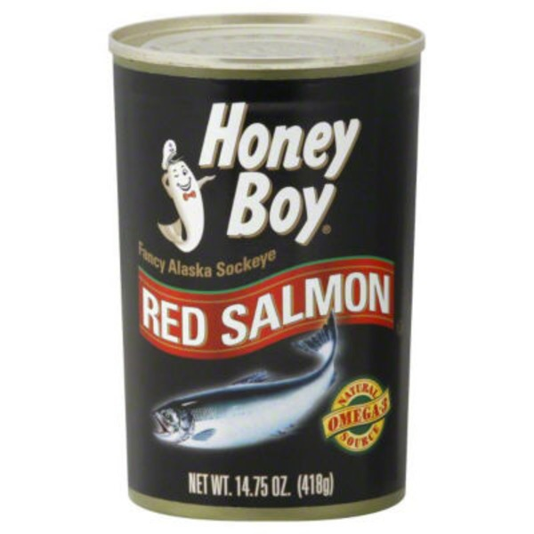 Honey Boy Fancy Alaska Sockeye Red Salmon