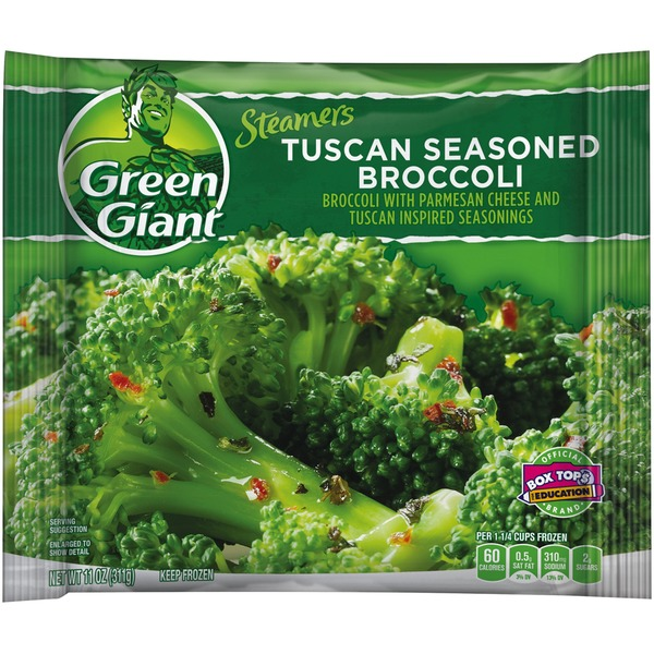 Green Giant Tuscan Seasoned Broccoli Steamers