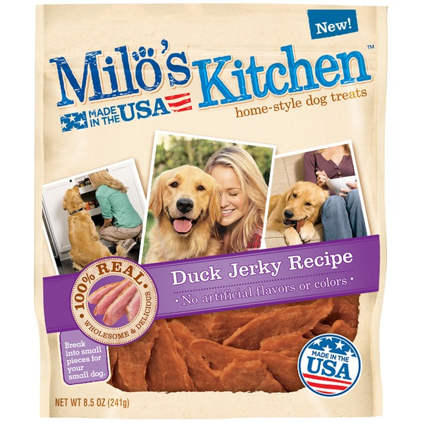 Milo's Kitchen Duck Jerky Dog Treats