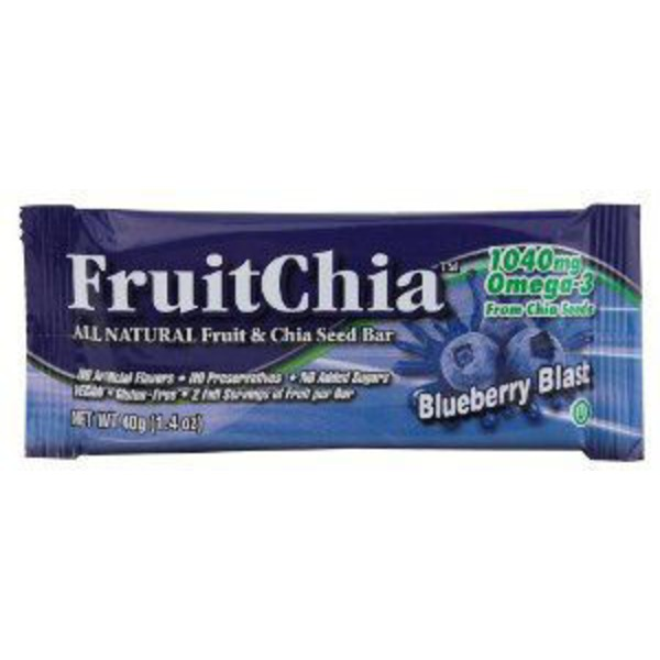 Fruitchia Blueberry Blast Fruit and Chia Seed Bar