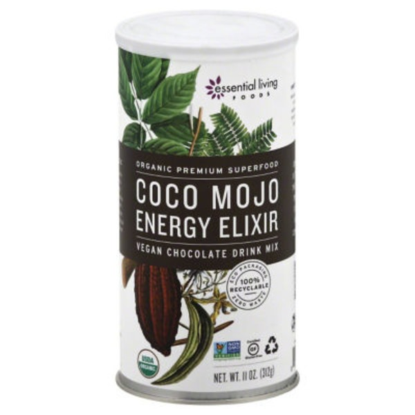 Essential Living Foods Coco Mojo Chocolate Energy Drink Mix