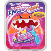 Plackers Flosser Friend Fun & Functional Flosser Holder + Flossers