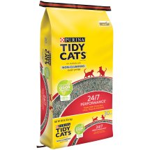 Purina Tidy Cats Non-Clumping Cat Litter 24/7 Performance for Multiple Cats 30 lb. Bag