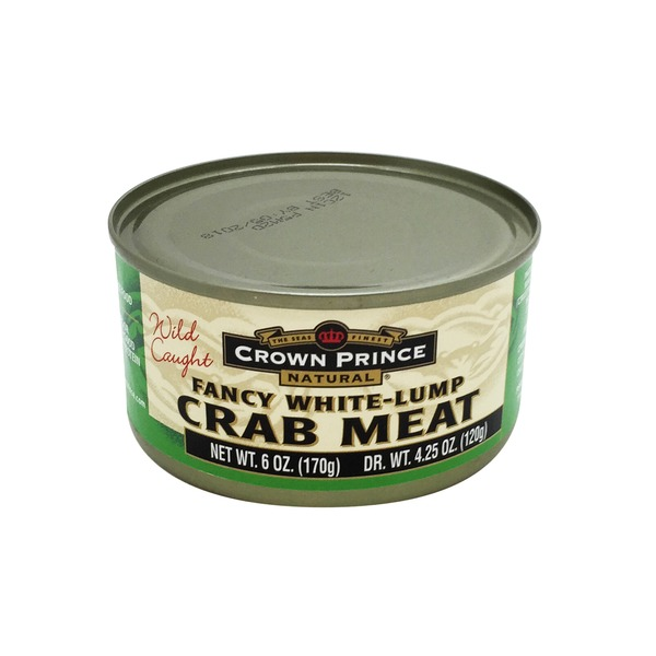 Crown Prince Natural Fancy White-Lump Crab Meat