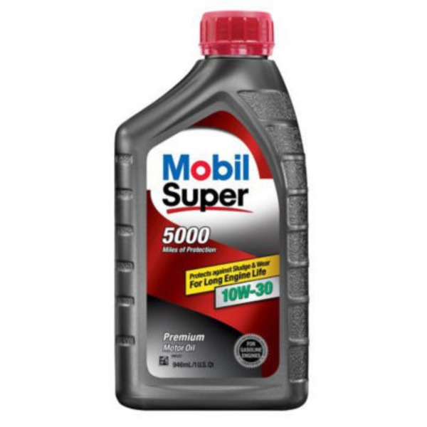Mobil Super 10 W 30 Conventional Motor Oil