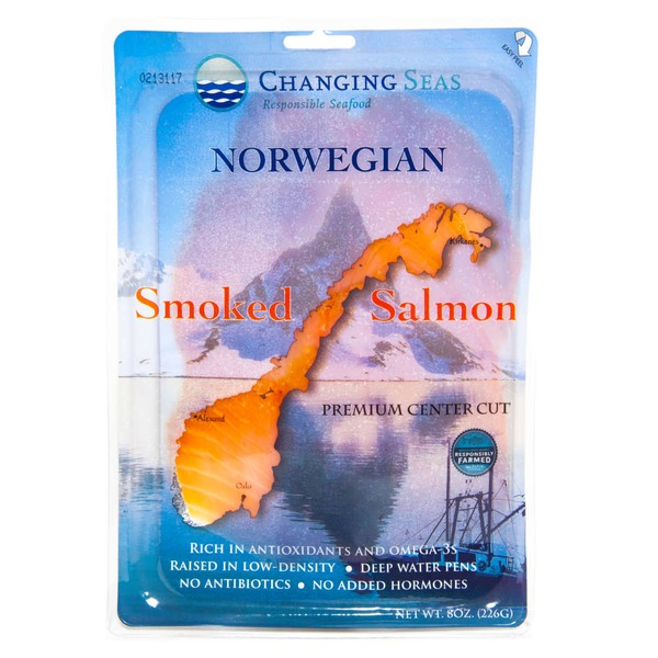 Changing Seas Sliced Smoked Salmon