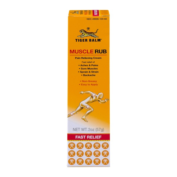 Tiger Balm Muscle Rub Pain Relieving Cream