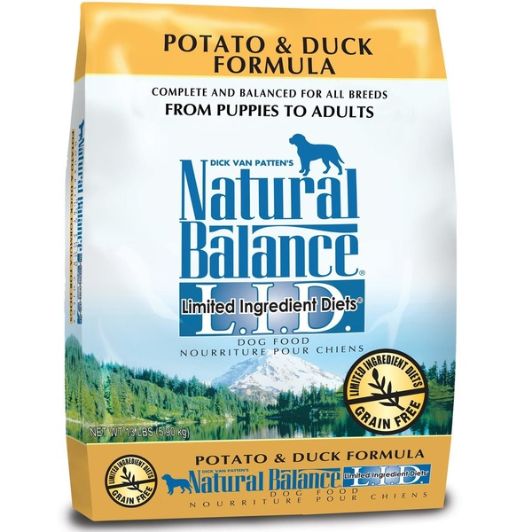 Natural Balance L.I.T. Potato and Duck Formula Dry Dog Food