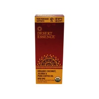Desert Essence Organic Coconut, Jojoba and Coffee Oil Dessert Essence