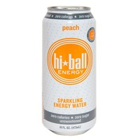 Hi-Ball Energy Sparkling Energy Water Peach