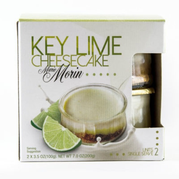 Marie Morin Key Lime Cheesecake