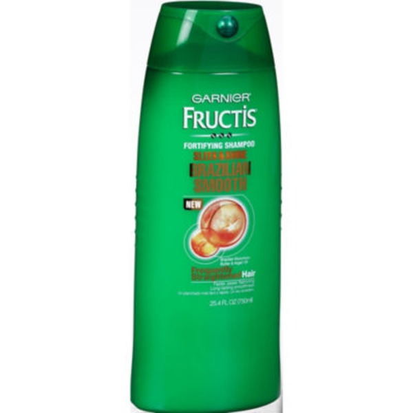 Fructis® Difficult to Straighten Hair Brazilian Smooth Shampoo