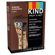 KIND Bars, Almond & Coconut, 4 Bars, Gluten Free