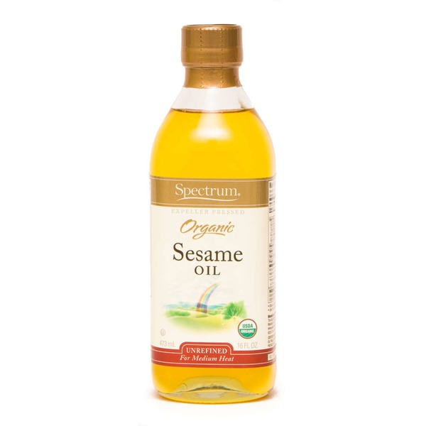 Spectrum Organic Sesame Oil Medium Heat