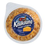 Kaukauna Sharp Cheddar Spreadable Cheese With Almonds, 10 oz