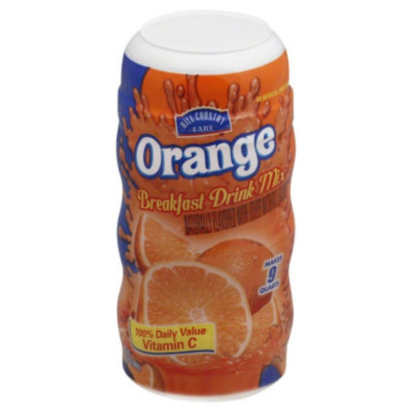 Hill Country Fare Orange Breakfast Drink Mix