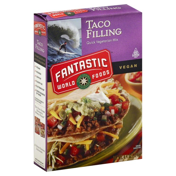 Fantastic World Foods Vegetarian Taco Filling Mix
