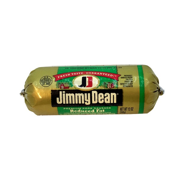 Jimmy Dean Pork Sausage, Premium, Original, Reduced Fat