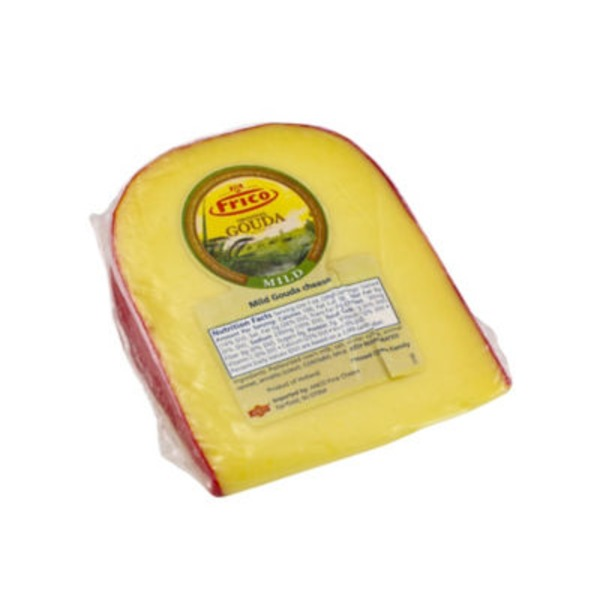 Frico Gouda Cheese With Red Wax