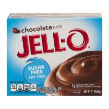 Jell-O Instant Pudding & Pie Filling Chocolate, 2.1 Oz