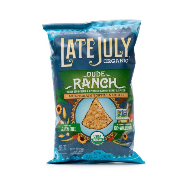 Late July Organic Gluten Free Dude Ranch Multigrain Snack Chips
