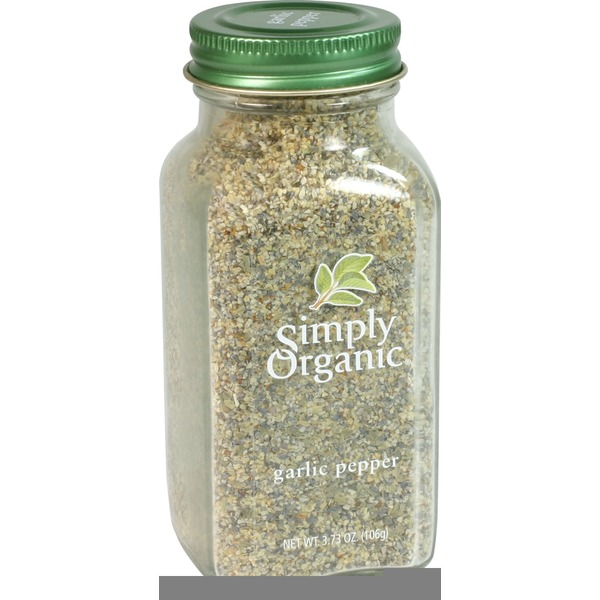 Simply Organic Certified Organic Garlic Pepper