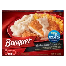 Banquet Chicken Fried Chicken Meal, 10.1 Ounce