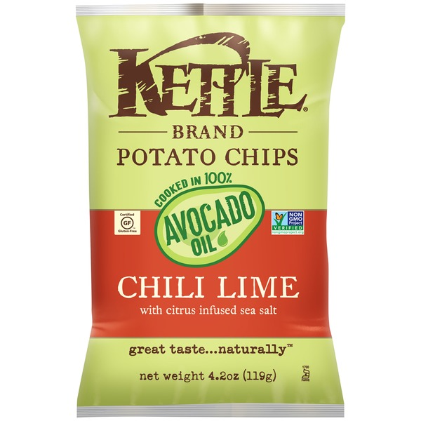 Kettle Brand® Avocado Oil Chili Lime Potato Chips