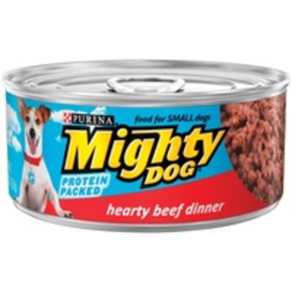Mighty Dog Hearty Beef Dinner Dog Food