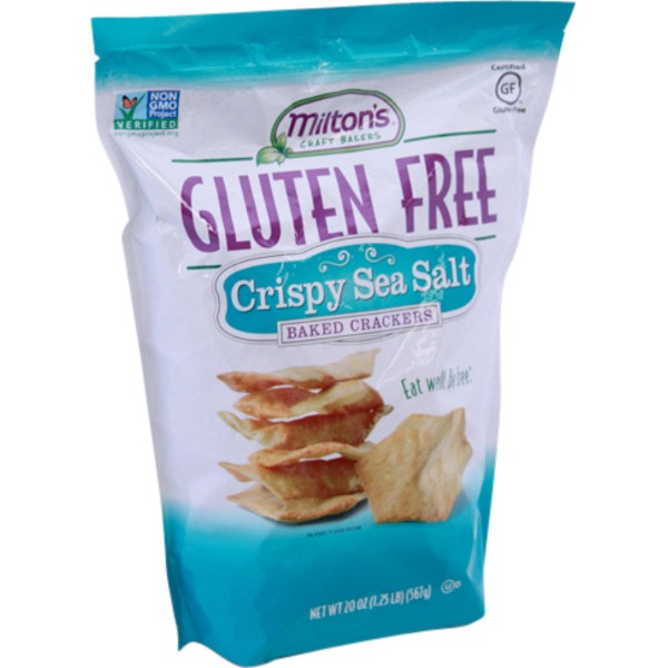 Miltons Gluten Free Sea Salt Crackers