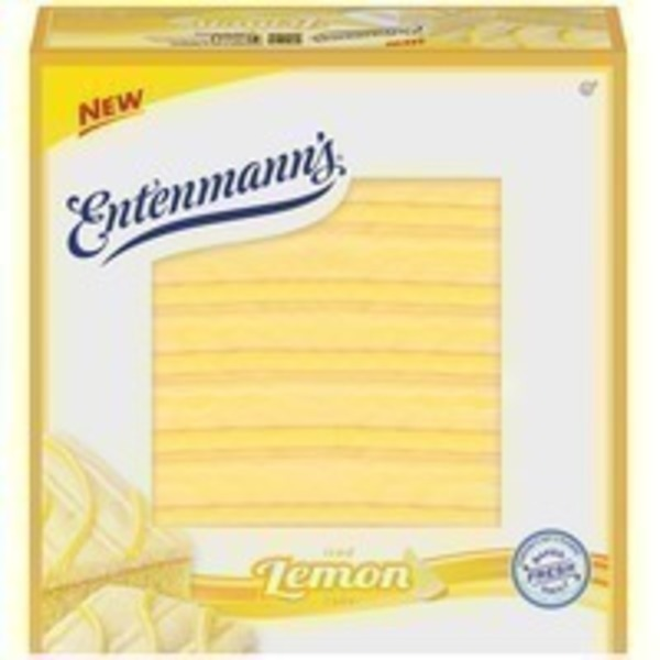 Entenmann's Iced Lemon Cake