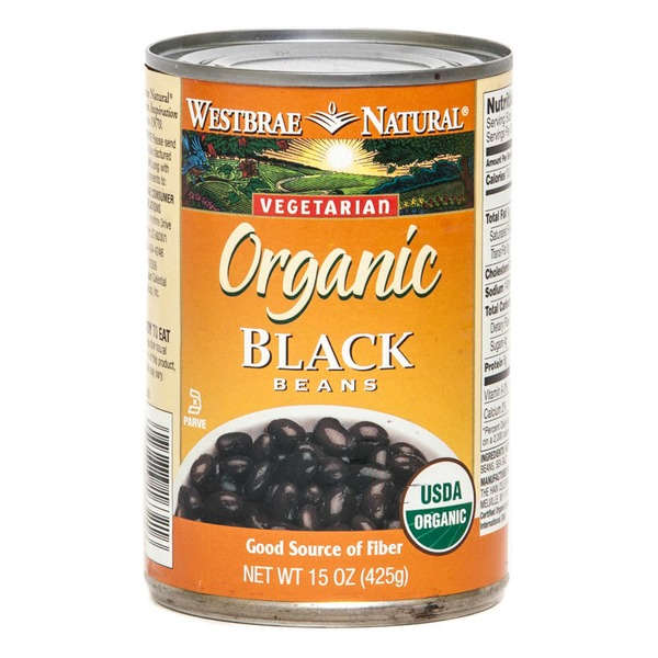 Westbrae Natural Vegetarian Organic Black Beans