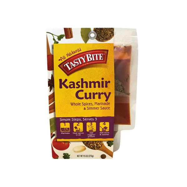 Tastybite Kashmir Curry Whole Spices, Marinara & Simmer Sauce