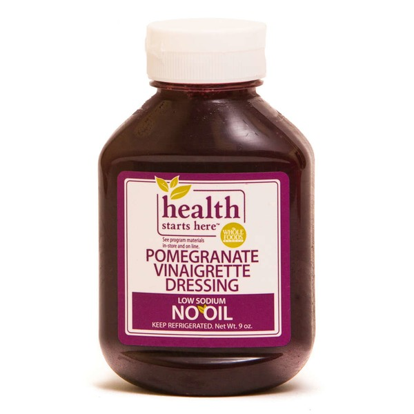 Whole Foods Market Oil Free Pomegranate Vinaigrette Dressing