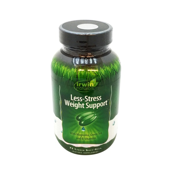 Irwin Naturals Less-Stress Weight Support Softgels