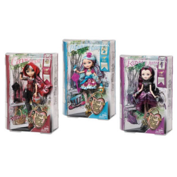 Mattel Ever After High Rebel Doll Collection