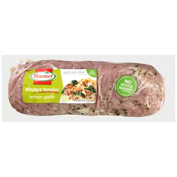 Hormel Always Tender Lemon Garlic Pork Loin Filet