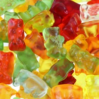 SunRidge Farms Gummy Bears, Bulk