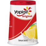 Yoplait Original Lemon Burst Yogurt