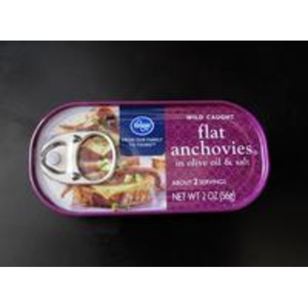 Kroger Flats Fillets of Anchovies