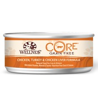 Wellness Core Turkey & Chicken Liver Canned Cat Food