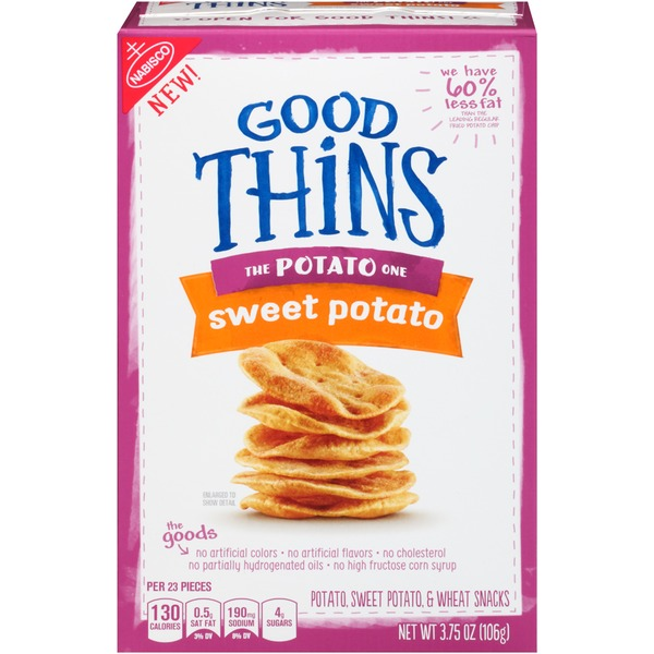 Nabisco Good Thins Potato Sweet Potato Snacks