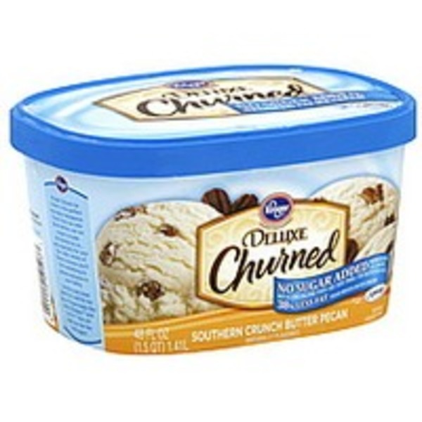 Kroger Southern Crunch Butter Pecan Ice Cream