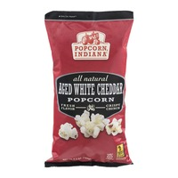 Popcorn, Indiana All Natural Popcorn Aged White Cheddar