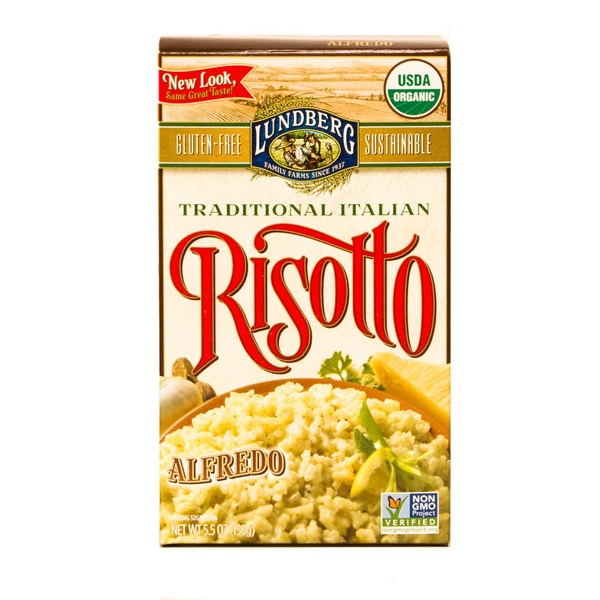 Lundberg Family Farms OG Alfredo Risotto