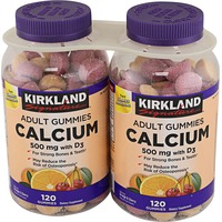 Kirkland Signature Calcium, 600 Mg+D3 Gummy