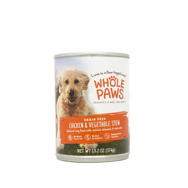 Whole Paws Chicken & Vegetable Stew Dog Food