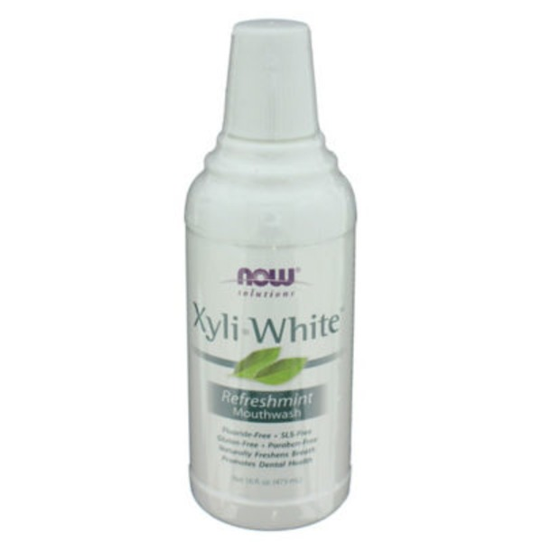 Now XyliWhite Refreshmint Natural Xylitol Mouthwash